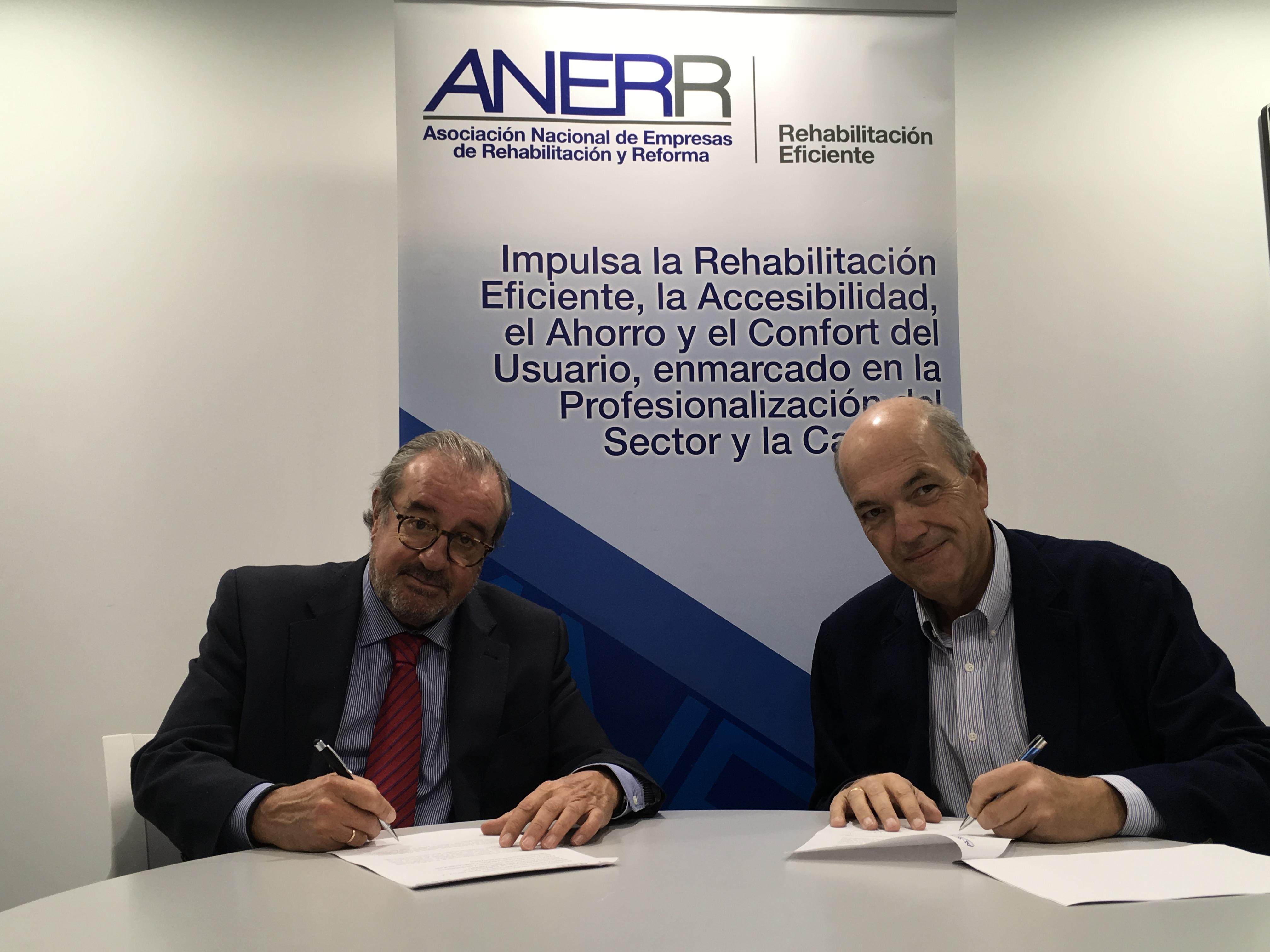 ANERR e ISC-Centro Especial de Empleo firman un acuerdo para promover la integración y empleabilidad de las personas con discapacidad.