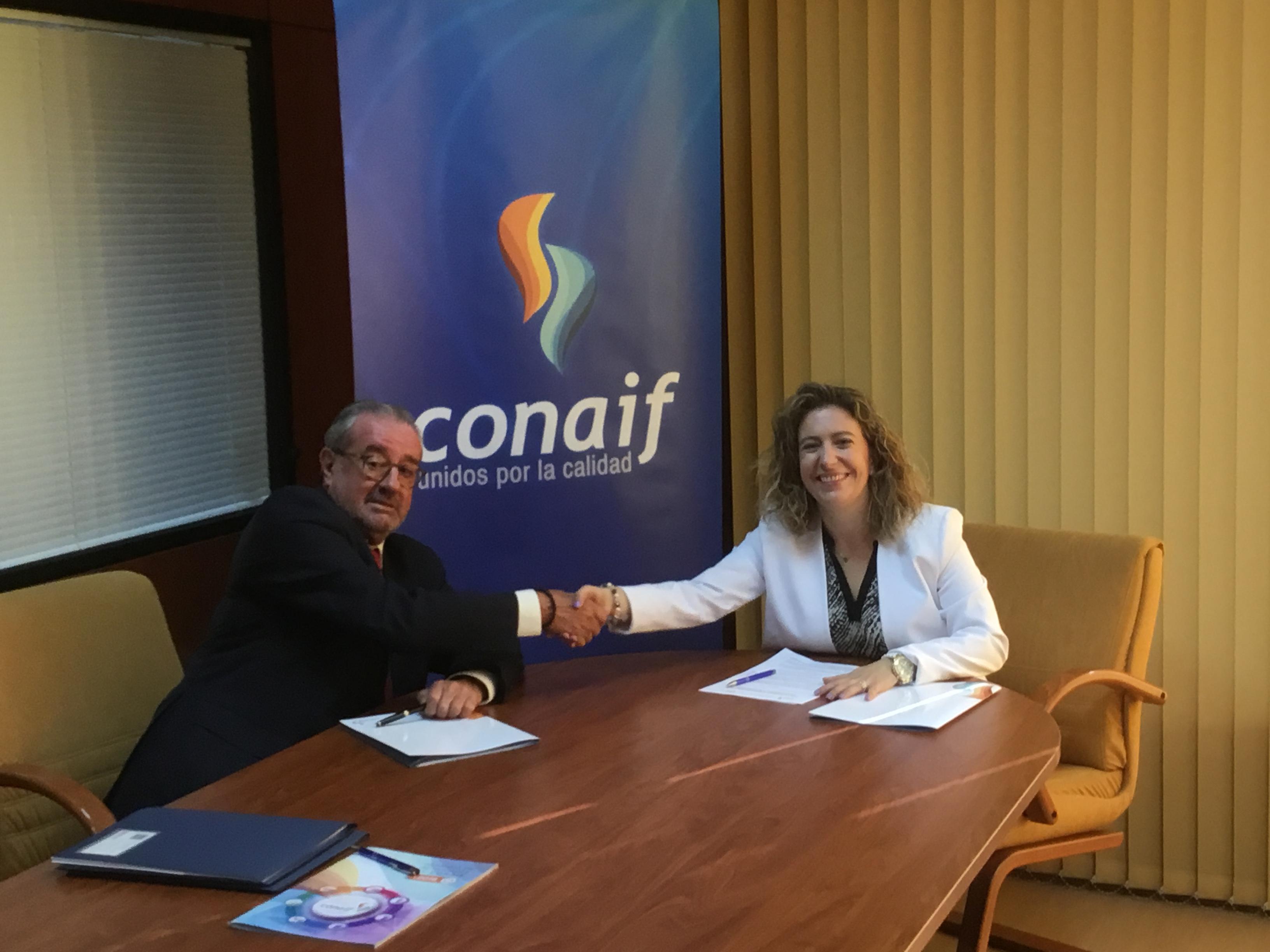CONAIF e ISC-Centro Especial de Empleo firman un acuerdo para promover la integración y empleabilidad de las personas con discapacidad.